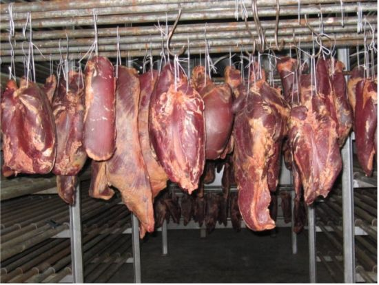 牛干巴(图片来源:中国肉牛网)