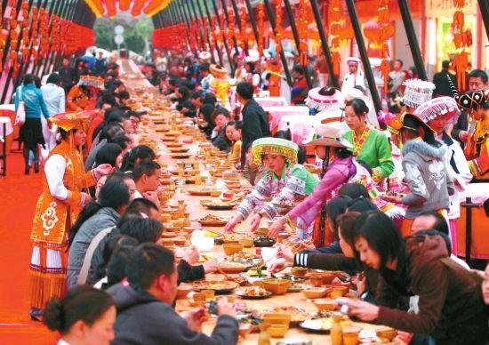 滇菜扬名天下(图片来源:云南日报网)