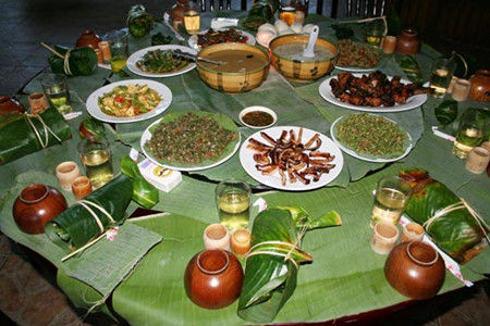 绿叶宴(图片来源:中国陇川网)