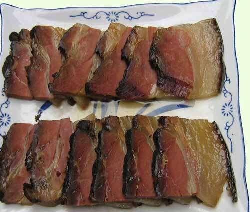 火熏腊肉(图片来源:产品贸易网)