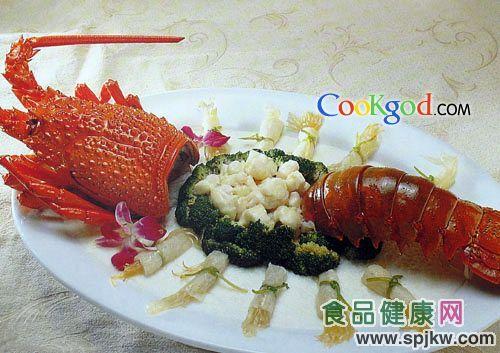 龙虾金钩翅(图片来源:食品健康网)