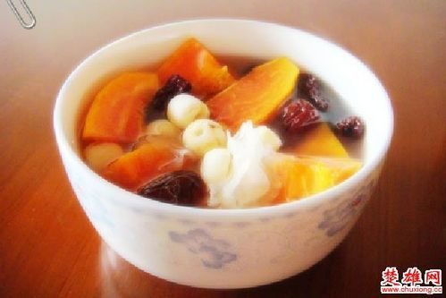 木瓜红枣莲子粥(图片来源:楚雄网)