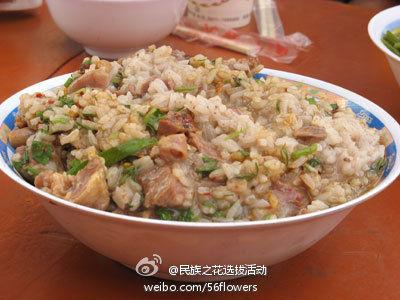 鸡肉烂饭(图片来源:新浪微博)