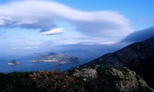 """大嵛山岛""""海上天湖""""的海角晴空"""
